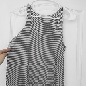📦 Zara soft stripe sleeveless